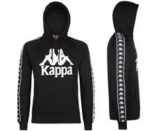 Kappa Hooded heren sportsweater zwart