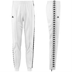 Kappa Poly Pant Slim Cuff heren sportbroek wit