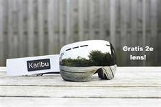 Karibu + Gratis 2e Lens goggle wit