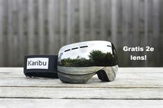 karibu + Gratis 2e Lens goggle zwart