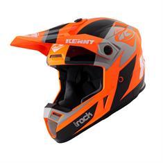 Kenny Graphic Track Helmet bmx/skate helm oranje