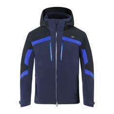 Kjus Speed Reader Jacket heren ski jas blauw dessin