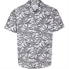 Kronstadt Cuba s/s Exotic heren blouse korte mouw wit