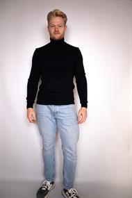 Kronstadt Fisker heren casual sweater zwart