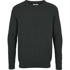 Kronstadt Gavin Cotton heren casual sweater donkergroen