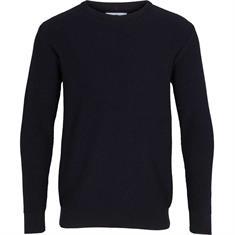 Kronstadt Gavin Cotton heren casual sweater marine