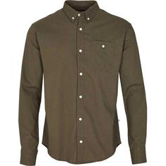 Kronstadt Johan Linen Shirt heren overhemd donkergroen