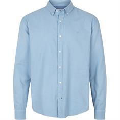 Kronstadt Johan Oxford washed heren overhemd blauw