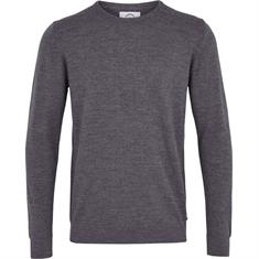 Kronstadt Johannes Merino heren casual sweater antraciet
