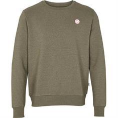 Kronstadt Lars Recycled heren casual sweater bruin