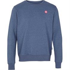 Kronstadt Lars Recycled heren casual sweater denim