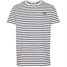 Kronstadt Morfi Stripe Tee heren shirt wit