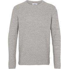 Kronstadt Remon heren casual sweater midden grijs