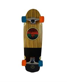 Kryptonics All Terrain 30.Cruiser skateboard complete donkerbruin