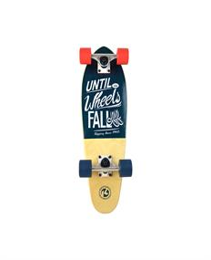Kryptonics For Life 25.Cruiser skateboard complete blauw