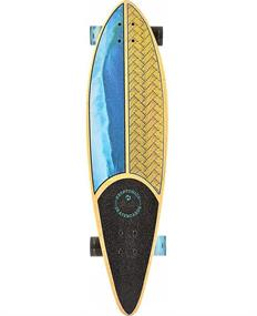 Kryptonics Pintail Weaved 37. longboard blue