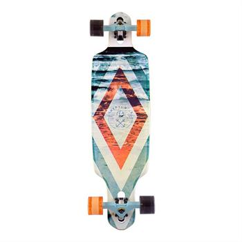 Kryptonics Sea Maze 36 Longboard oranje