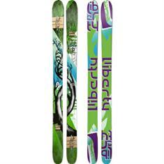Liberty Incl.binding twintip ski zwart