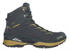 Lowa Innox GTX Mid is Antraciet heren berg- en wandelschoenen zwart