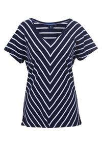Luhta Anette dames shirt marine