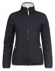 Luhta Britta dames fleece zwart