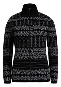Luhta Elkkys dames ski sweater zwart
