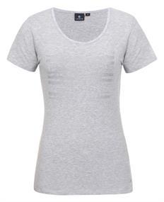 Luhta Taisa dames shirt licht grijs