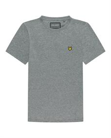 Lyle and Scott Back Print Tee heren shirt midden grijs