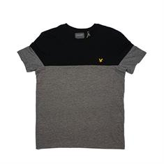 Lyle and Scott Chest Block T-shirt heren shirt zwart