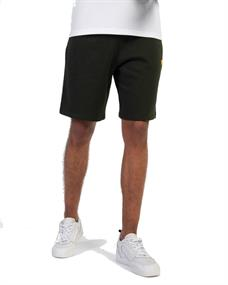 Lyle and Scott Fleece Short heren casual short groen