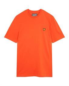 Lyle and Scott Martin T-shirt heren shirt oranje