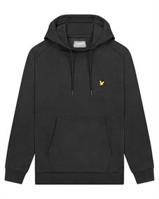 Lyle and Scott OTH Fly Fleece Hoodie heren casual sweater zwart