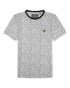 Lyle and Scott Printed Tee heren shirt wit dessin