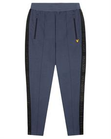Lyle and Scott Side Tape Trackies heren sportbroek antraciet
