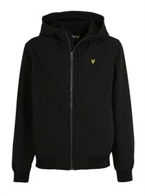 Lyle and Scott Soft Shell jacket junior zomerjas zwart