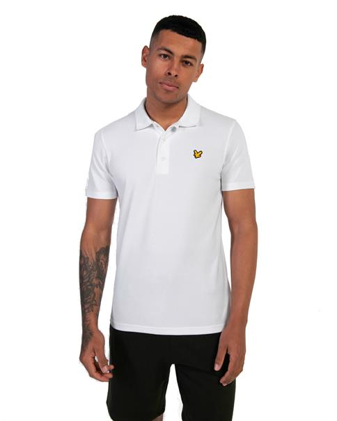 Lyle and Scott Sport SS Polo heren polo wit