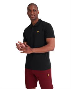 Lyle and Scott Sport SS Polo heren polo zwart