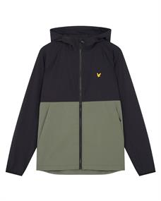 Lyle and Scott Venture Colour Block Jacket heren zomerjas zwart