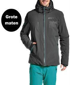 Maier Pralongia heren ski jas zwart