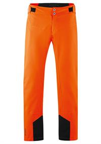 Maier Sports Grote Maten Neo Pants heren skibroek oranje