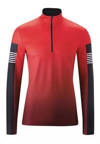 Maier Sports Grote maten Yakori heren ski pulli rood