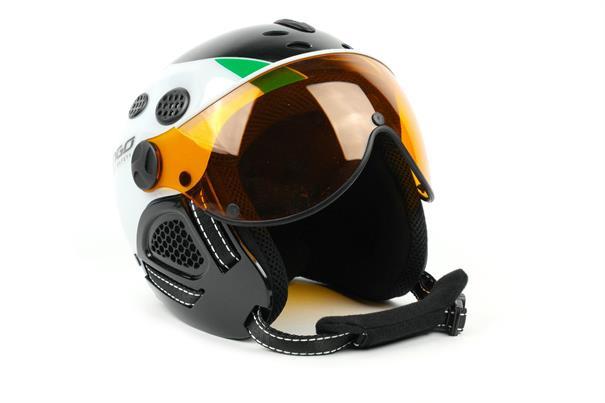Mango Cayman JR.WhiteGreen junior helm groen dessin