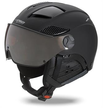 Mango Quota Free Black Skihelm SR ZWART