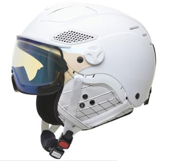Mango Quota Free White Dames helm WIT