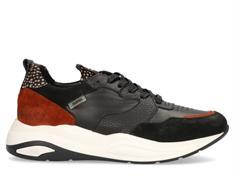 Maruti Faro Suede dames sneakers zwart