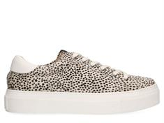 Maruti Ted Hairon Leather dames sneakers ecru