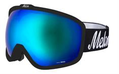Melon Blue Chrome + Sonar goggle zwart