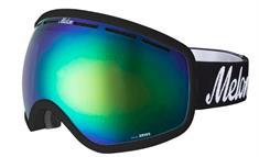 Melon + Gratis 2e LensGreen Chrome + Sonar goggle zwart