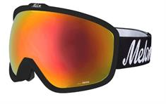 Melon + Gratis 2e LensRed Chrome + Sonar goggle zwart