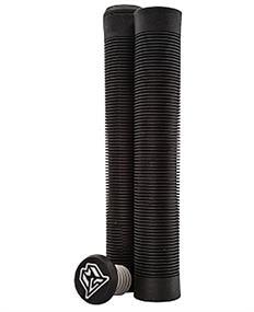 MGP Flangless TPR Grind Grips 180MM bmx grips zwart